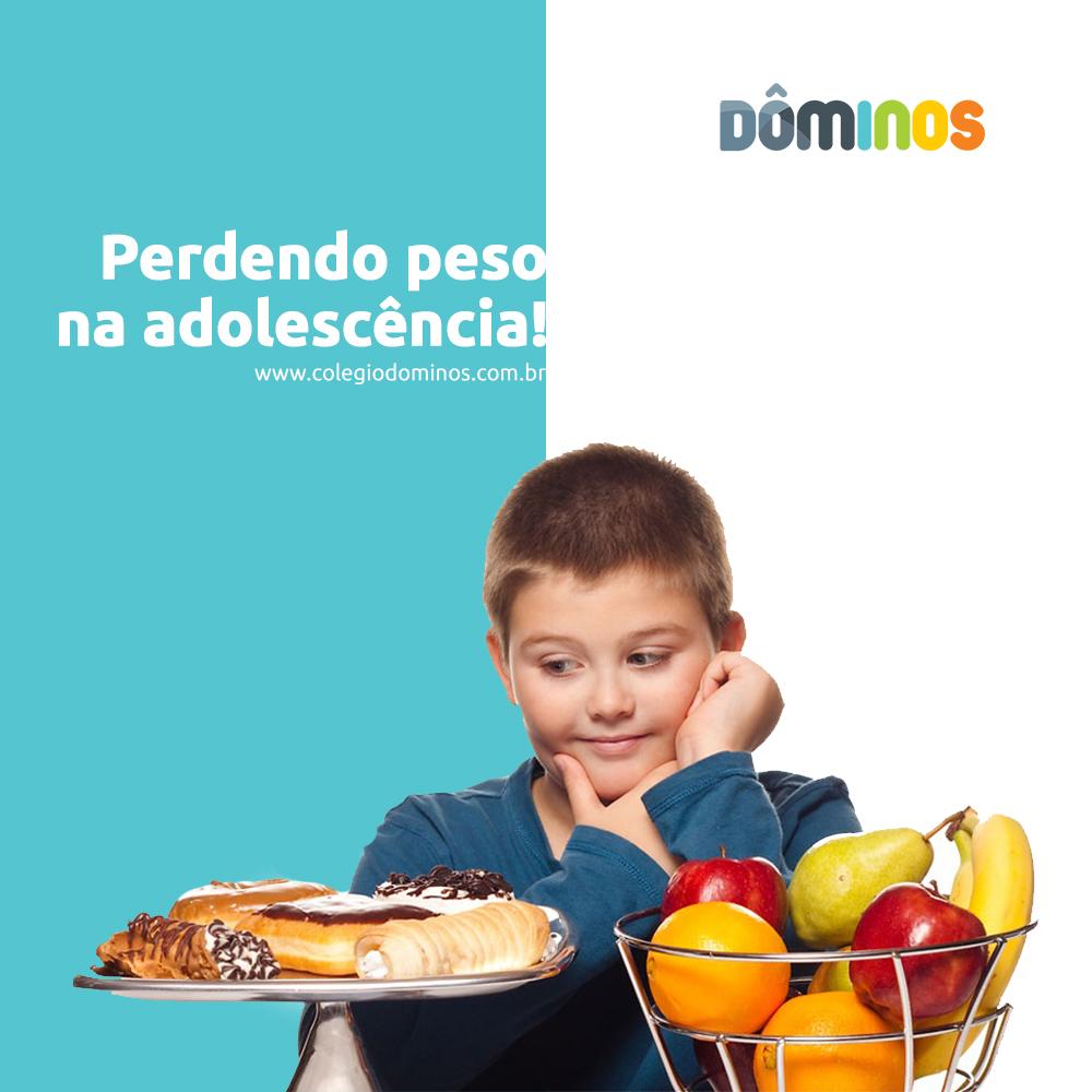 Como perder peso na adolescência - Colégio Dominos