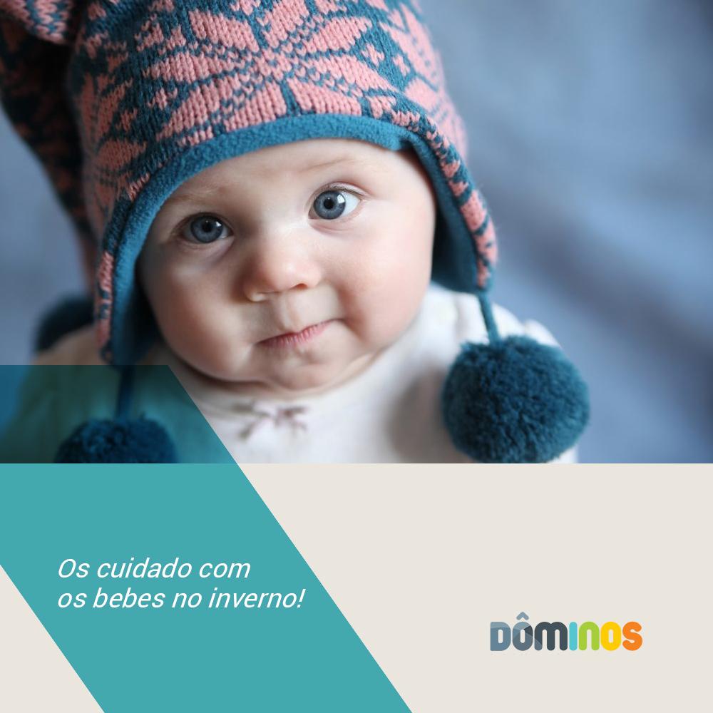 Cuidados que os pais devem ter com os bebês no inverno