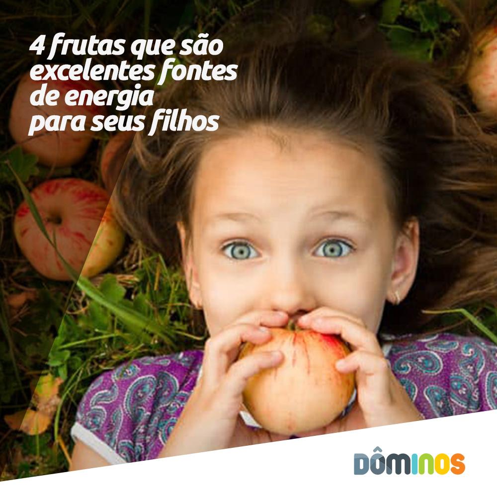 4 frutas que são excelentes fontes de energia para seus filhos