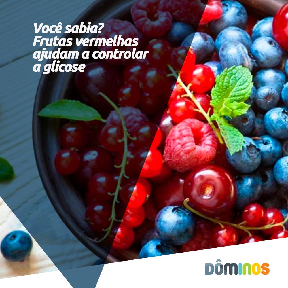 Frutas vermelhas que ajudam a controlar a glicose