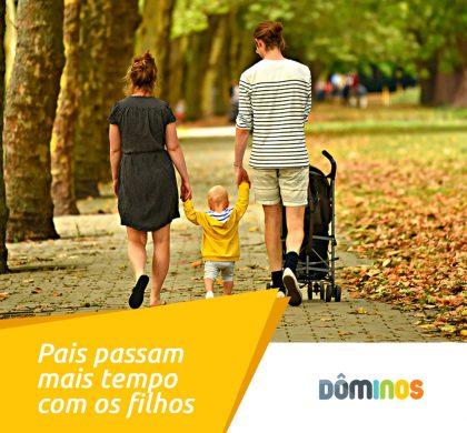 Estudo mostra que os pais de hoje passam mais tempo com os filhos